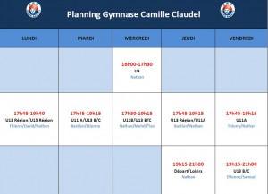 Planning Claudel