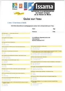 Issama Questionnaire